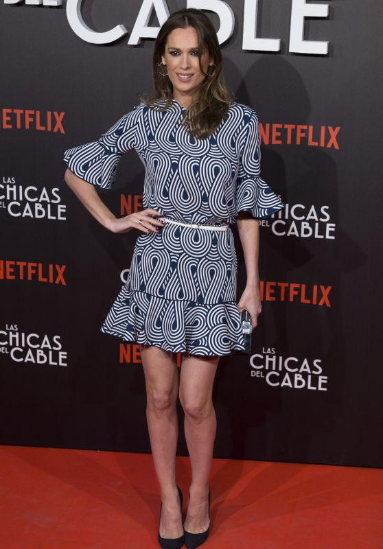 "Mar Saura at ""Las Chicas Del Cable"" Movie Premiere in Madrid 04/27/2017"