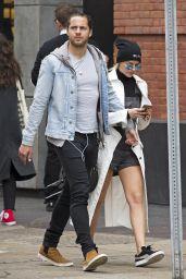 Margot Robbie Strolling Through West Village, New York 04/24/2017