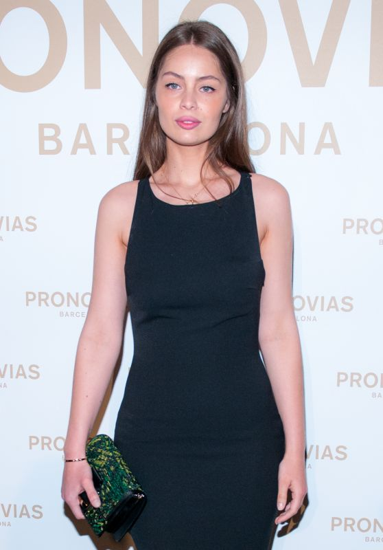 Maria Ange Casta – Barcelona Photocall at the Pronovias Catwalk Show 04/28/2017