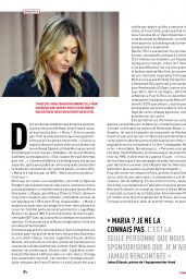 Maria Sharapova - Lequipe Magazine April 2017 Issue