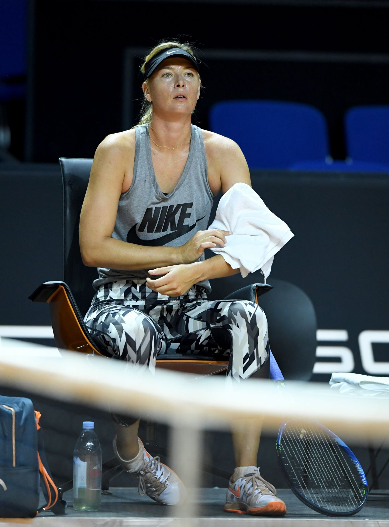Maria Sharapova - Porsche Tennis Grand Prix in Stuttgart ...