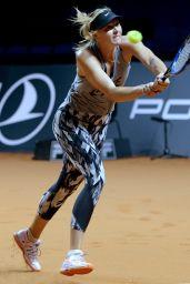 Maria Sharapova - Porsche Tennis Grand Prix in Stuttgart, April 2017
