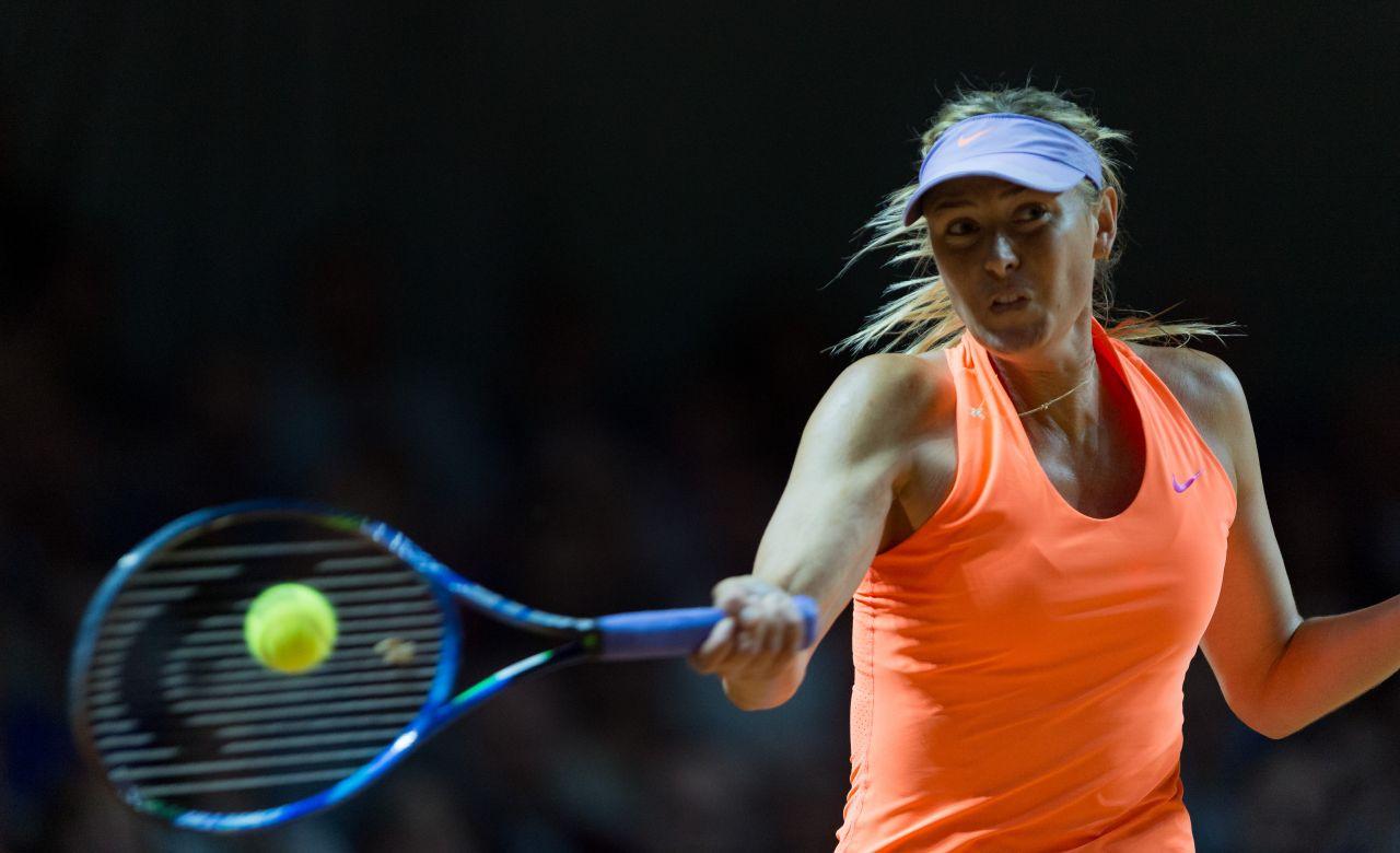 Maria Sharapova Porsche Tennis Grand Prix In Stuttgart