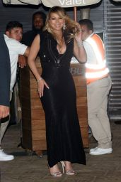 Mariah Carey at Nobu in Malibu 4/23/2017