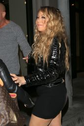 Mariah Carey Dining Out With a Friend at Catch LA in West Hollywood 4/18/2017