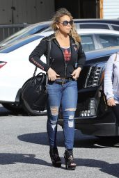 Mariah Carey in Ripped Jeans - Outin Beverly Hills 04/27/2017