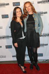 Marion Cecinas – Hollywood Comedy Shorts Film Festival in LA 4/15/2017