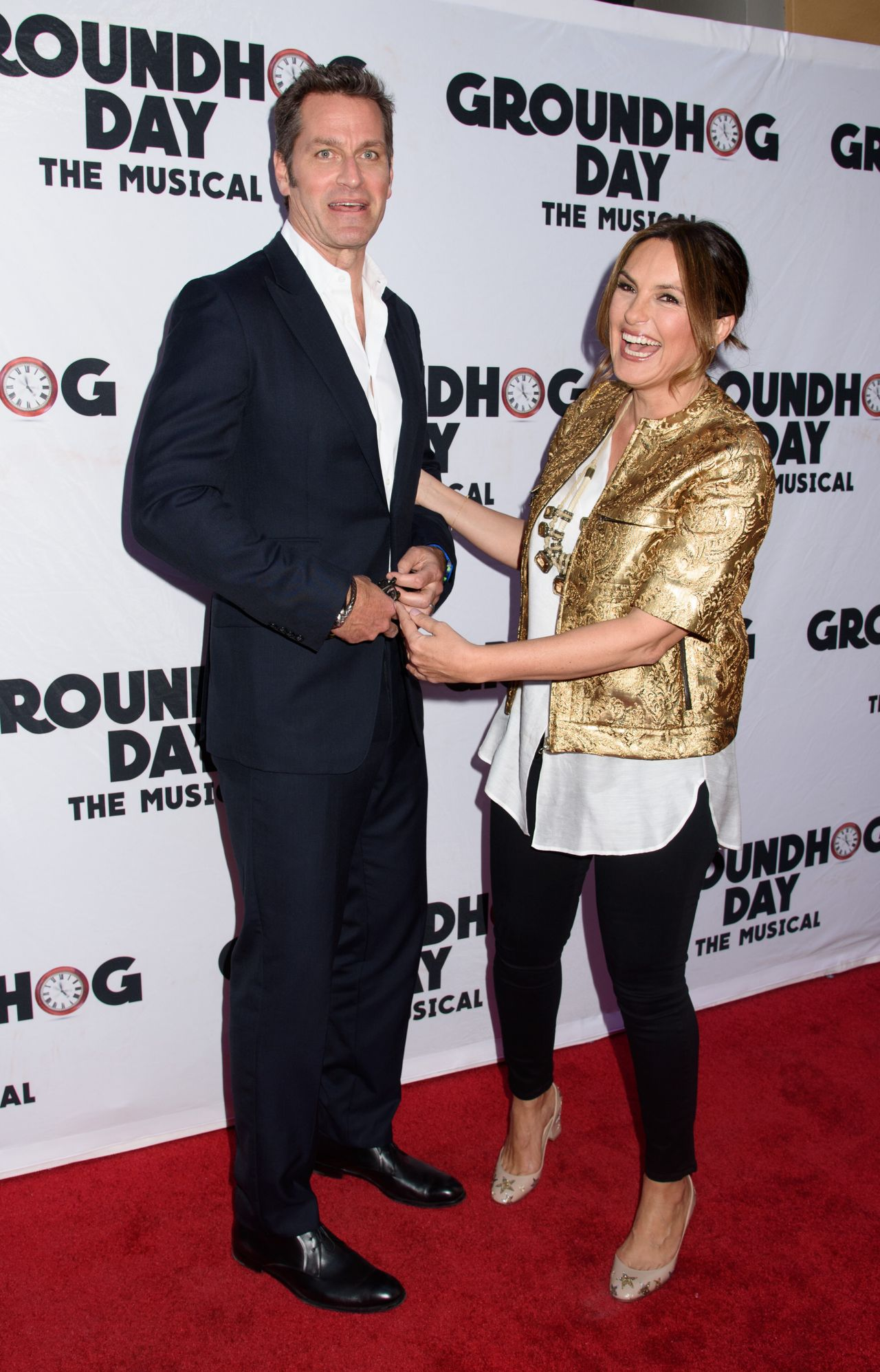 Mariska Hargitay Quot Groundhog Day Quot The Musical In New York