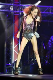 Martina Stoessel Performing During Her