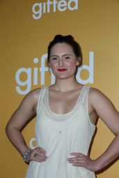 "Mary Chieffo at ""Gifted"" Premiere in Los Anegeles 4/4/2017"