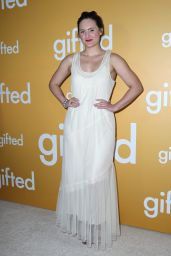 """Mary Chieffo at """"Gifted"""" Premiere in Los Anegeles 4/4/2017"""