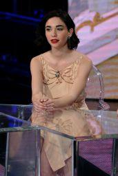 """Matilda De Angelis - """"Che tempo che fa"""" TV Show in Milan 4/9/2017"""