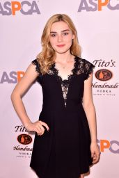 Meg Donnelly – ASPCA Bergh Ball at the Plaza Hotel in NYC 4/20/2017