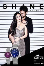 Megan Fox New Face of Lotus Watches, April 2017