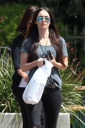 Megan Fox - Shopping in Malibu 4/7/2017