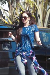 Megan Fox Street Style - Out in Los Angeles 4/2/2017