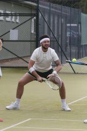 Megan McKenna - Playing Tennis in Essex, UK 4/20/2017