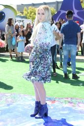 """Meghan Trainor at """"Smurfs: The Lost Village"""" Premiere in Los Angeles"""