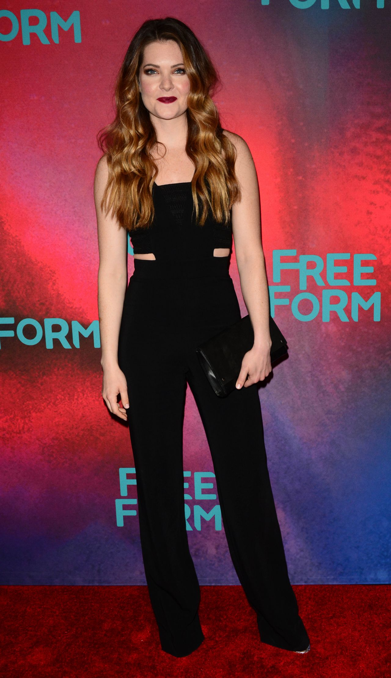 Meghann Fahy at Freeform Upfront in New York 4/19/2017