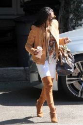 Mel B Spring Outfit Ideas - Out in West Hollywood 4/10/2017