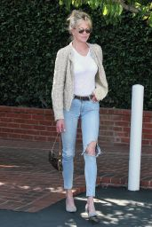 Melanie Griffith Spring Ideas - Shops at Fred Segal in LA 4/10/2017