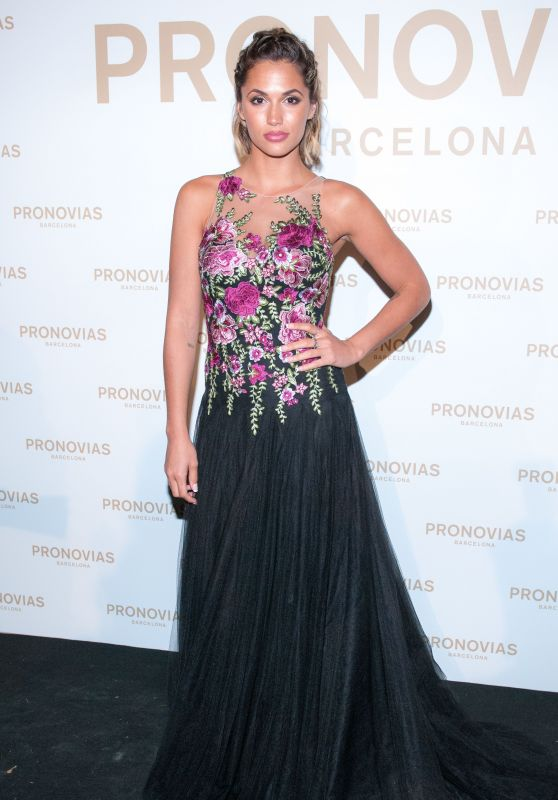 Michelle Calvo – Barcelona Photocall at the Pronovias Catwalk Show 04/28/2017