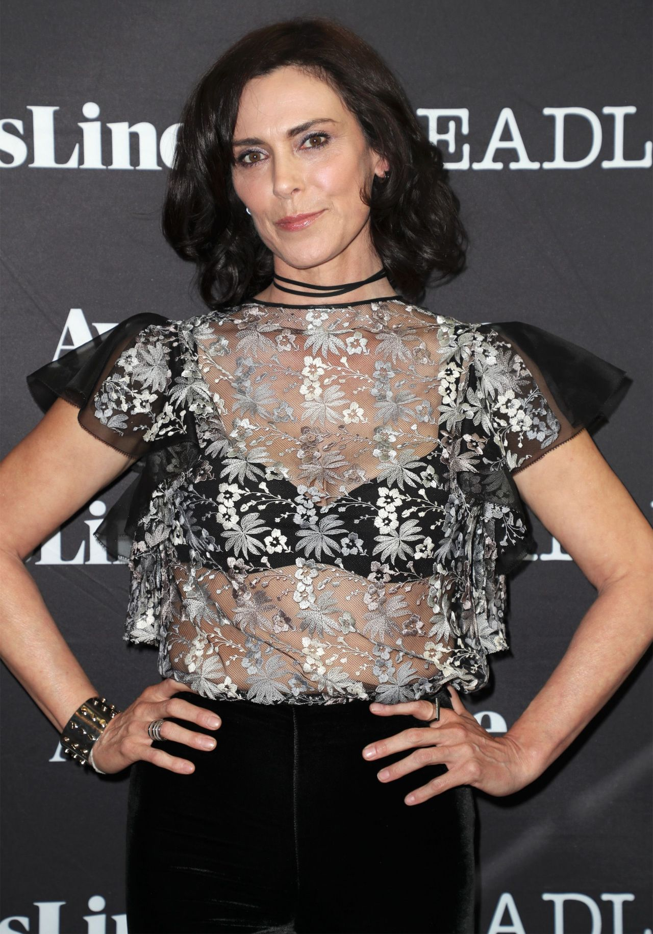 Michelle Forbes - Deadline's The Contenders Emmys Event in ... Michelle Forbes Birthday