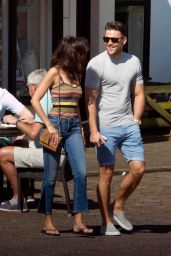 Michelle Keegan - Out & About in Abridge, Essex, April 2017