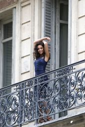 Michelle Keegan - Photoshoot in Paris, France 4/4/2017