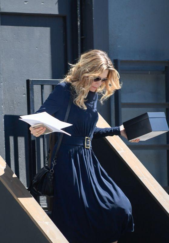 Michelle Pfeiffer Leaves a Studio in LA, April 2017
