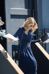 Michelle Pfeiffer Leaves a Studio in LA, April 2017