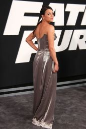 """Michelle Rodriguez – """"Fate of the Furious"""" Pemiere in New York 4/8/2017"""