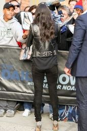 Michelle Rodriguez Outside The Daily Show in New York City 4/5/2017
