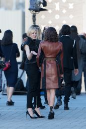 Miranda Kerr & Cate Blanchett at the Louis Vuitton Dinner Party in Paris 4/11/2017