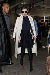 Miranda Kerr Chic Style - LAX in LA 4/4/2017