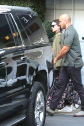 Miranda Kerr - Leaving Epione Salon in Los Angeles 4/7/2017