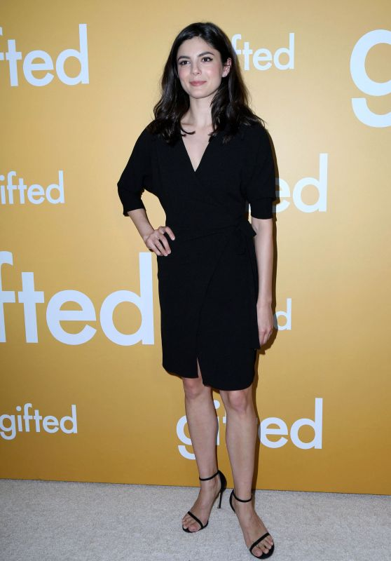 "Monica Barbaro at ""Gifted"" Premiere in Los Anegeles 4/4/2017"
