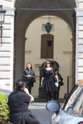Monica Bellucci - Leaving Valentino