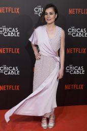 """Nadia de Santiago at """"Las Chicas Del Cable"""" Movie Premiere in Madrid 04/27/2017"""