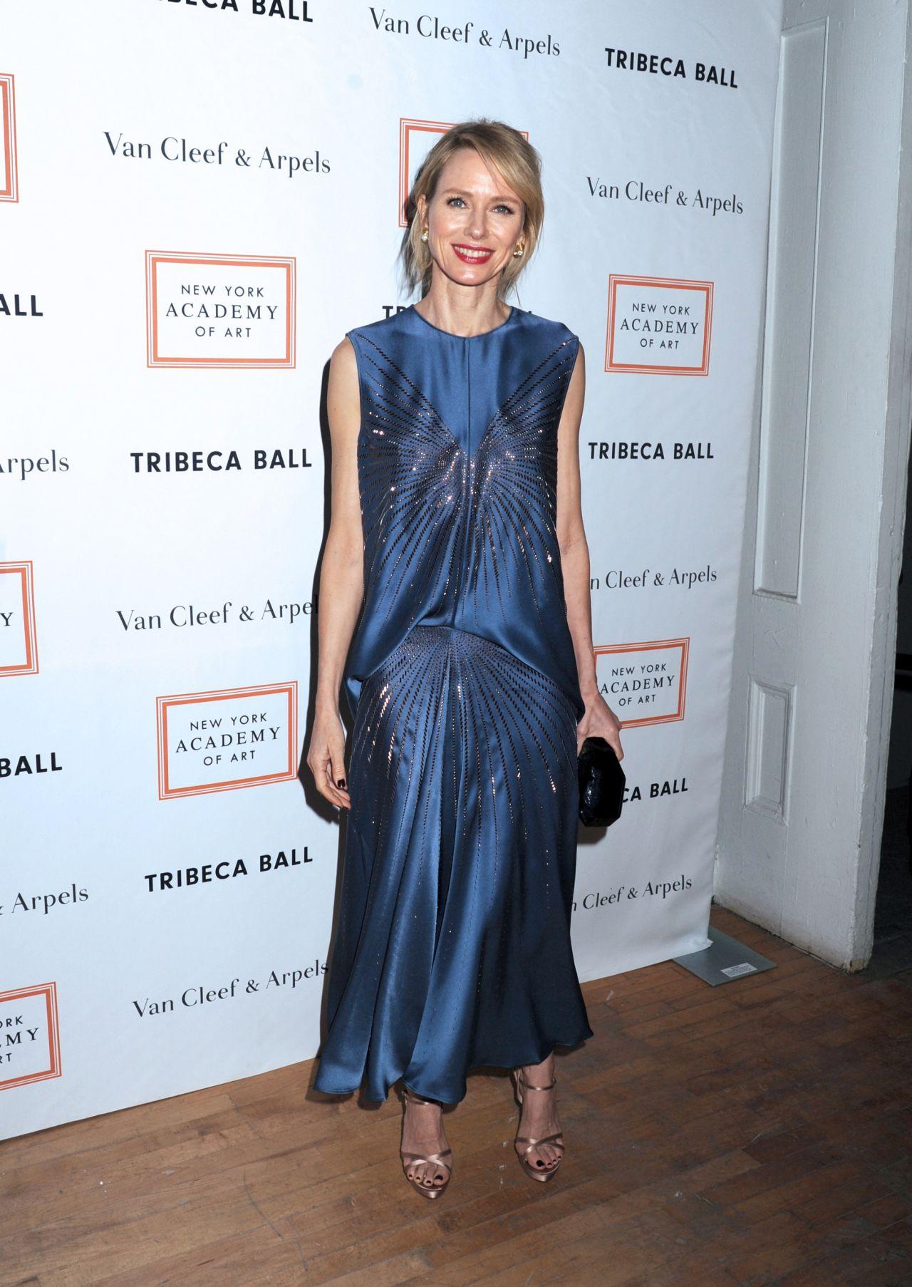 Naomi Watts New York Academy Of Art Tribeca Ball 4 3 2017
