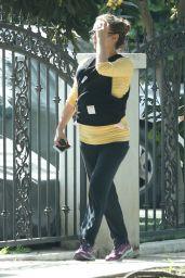 Natalie Portman Street Style - Out in Los Feliz 4/6/2017