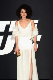 """Nathalie Emmanuel - """"Fate of the Furious"""" Pemiere in New York 4/8/2017"""