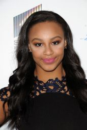"Nia Sioux – ""A Cowgirls Story"" Premiere in Los Angeles"