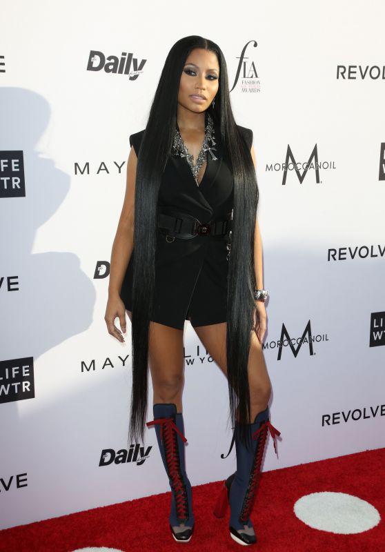 Nicki Minaj at Daily Front Row's Fashion Los Angeles Awards 2017
