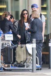 Nicole Scherzinger with a Mystery Man in Zurich 4/6/2017
