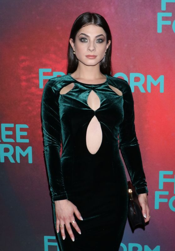 Niki Koss at Freeform Upfront in New York 4/19/2017