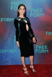 Niki Koss at Freeform Upfront in New York 4/19/2017