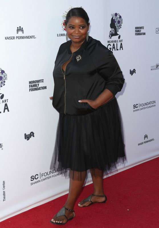 Octavia Spencer - Wearable Art Gala in Los Angeles 04/29/2017