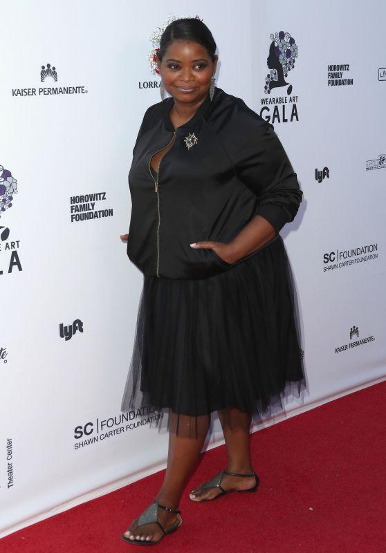 Octavia Spencer - Wearable Art Gala in Los Angeles 04/29/2017