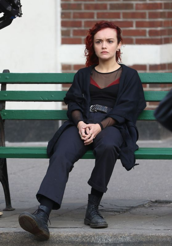 "Olivia Cooke - in Costume on Set of ""Life Itself"" in NY 4/5/2017"